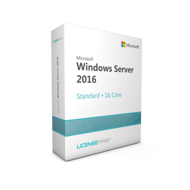 Windows Server 2016 Standard 16 Core